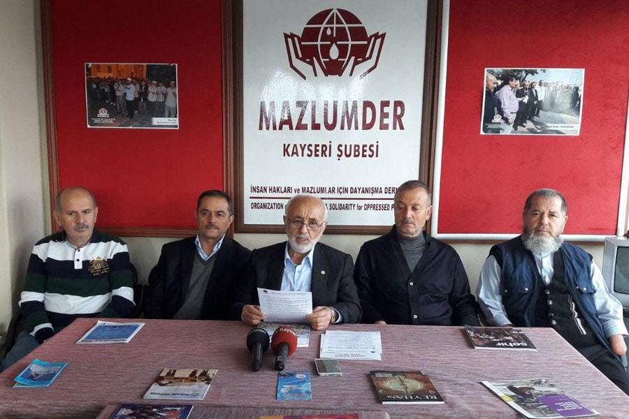 Mazlumder: Tek tip kıyafet uygulaması insan hakkı ihlali
