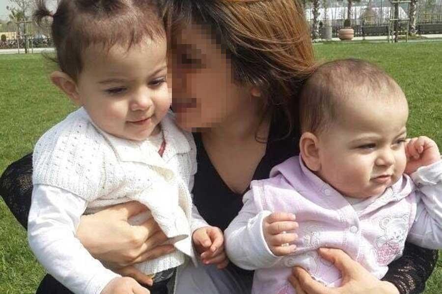 İki küçük kızını öldürüp intihar etti