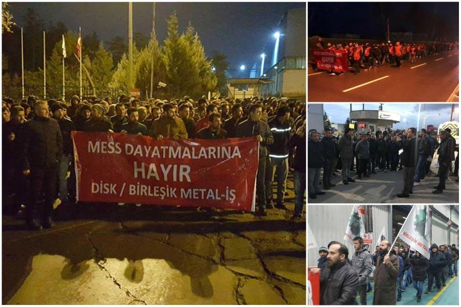 Birleşik Metal-İş ile MESS arasında arabulucu toplantısı