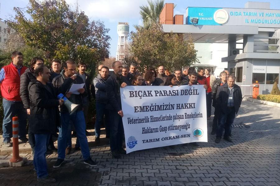 Veterinerlik hizmetleri çalışanlarının hakları gasbediliyor