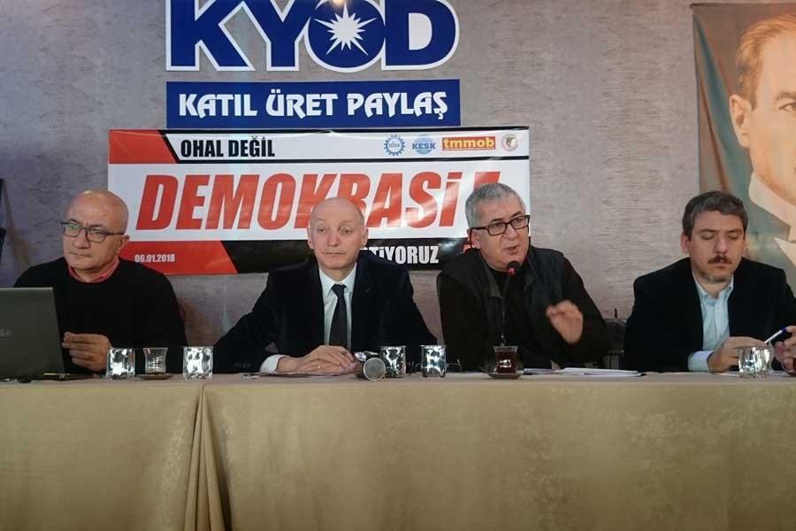 Kocaeli'de 'OHAL değil demokrasi' forumu