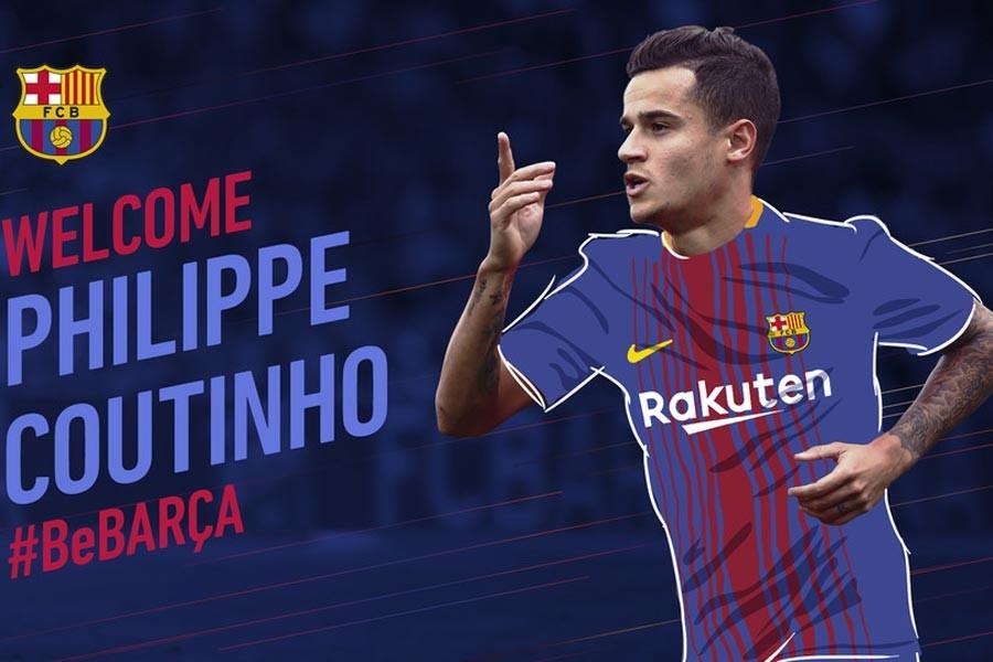 Barcelona, Liverpool'dan Coutinho'yu transfer etti