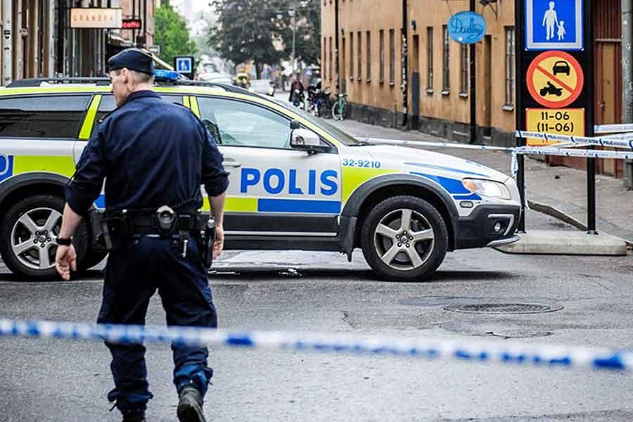 Stockholm'de patlama: 1 ölü
