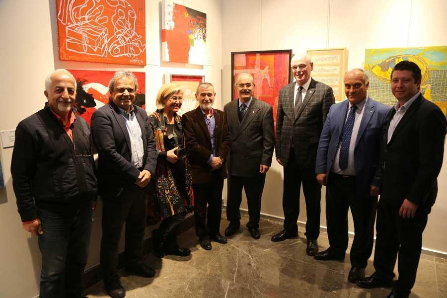Ahmet Telli için 'Renkler/ İmgeler/ Sözcükler' sergisi