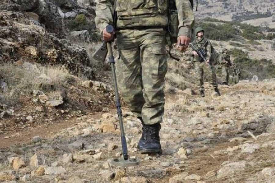 Şırnak'ta el yapımı patlayıcı infilak etti: 1 asker yaralı