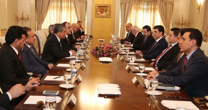 Barzani: Bağdat ile yaptığımız anlaşmaya bağlıyız