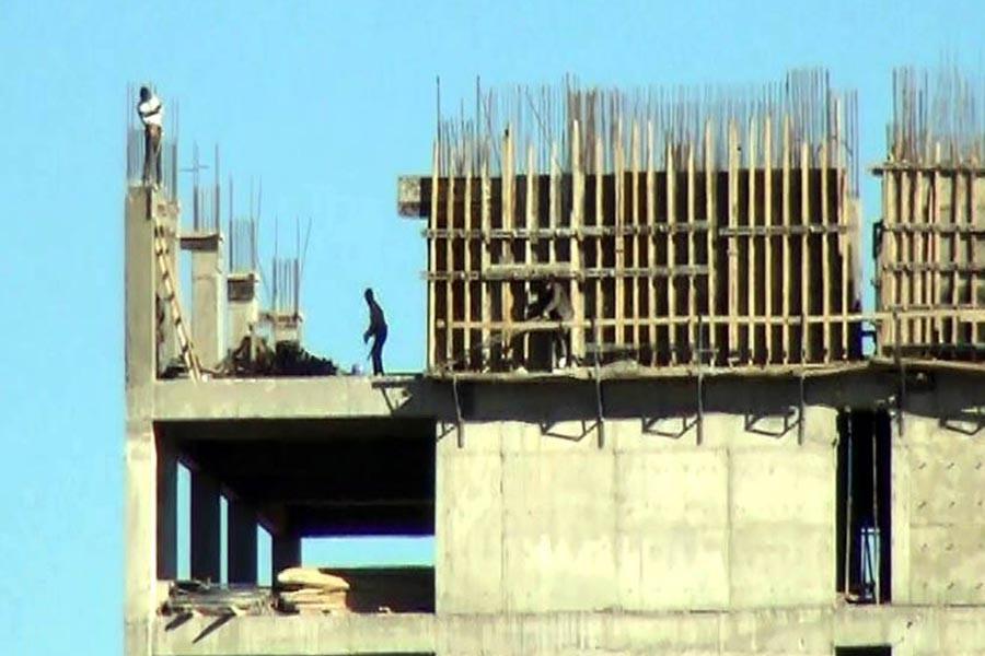 Şanlıurfa'da 15 katlı inşaatta işçi güvenliği yok