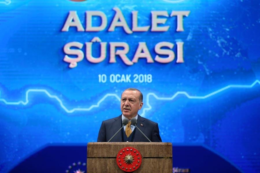 Erdoğan: Maalesef UYAP'ı 'FETÖ'cülere kaptırdık