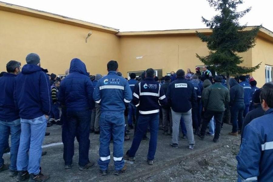 Eti Bakır işçisinin grevi halkın da desteği ile sürüyor
