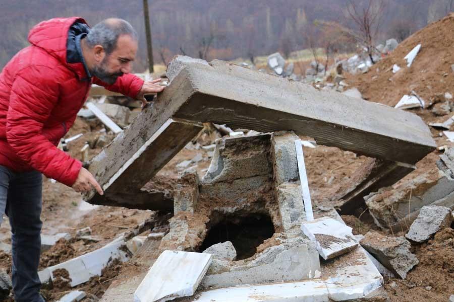 İHD'den Garzan Mezarlığı raporu: Mezarların içi boş