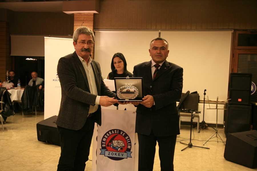 Zonguldak'ta KHK ile ihraç edilen emekçilere ödül