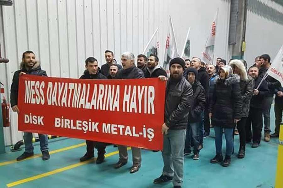 MESS'e karşı metal işçileri tek vücut olmalı