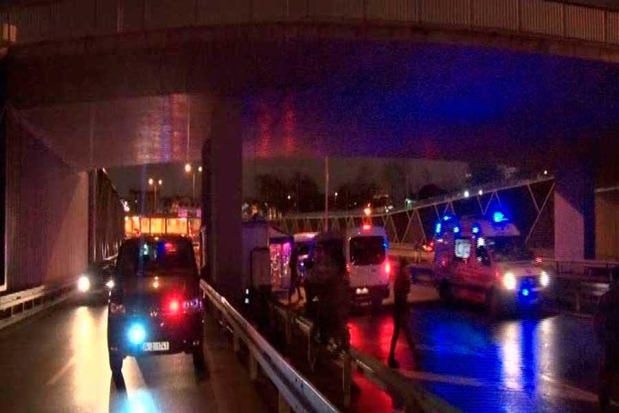 Avrasya Tüneli'nde bir kişi polis kurşunuyla öldürüldü