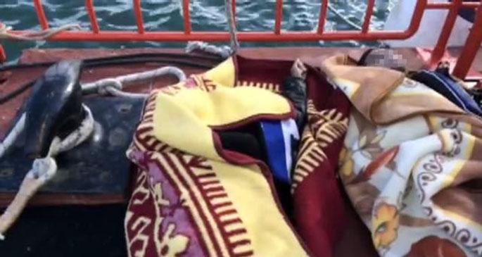 İstanbul Boğazı'nda tekne battı