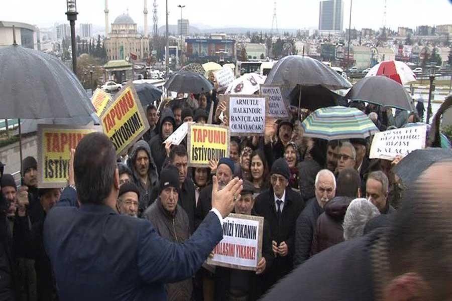 Küçük Armutlu'da içinde halkın olmadığı projeye iptal davası
