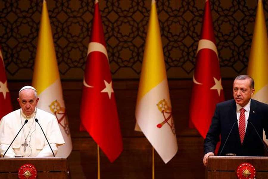 Erdoğan 5 Şubat'ta Papa'yı ziyaret edecek