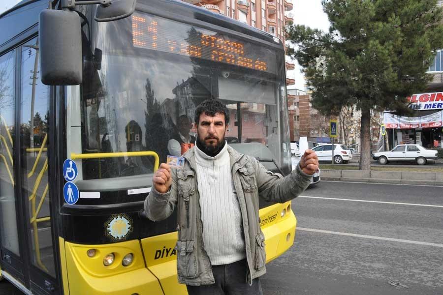 Engelli yurttaşa belediye şoföründen tokat iddiası