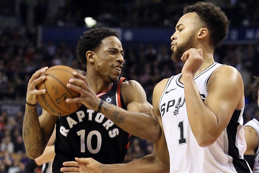 NBA'de gecenin sonuçları: Raptors, Spurs'ü durdurdu