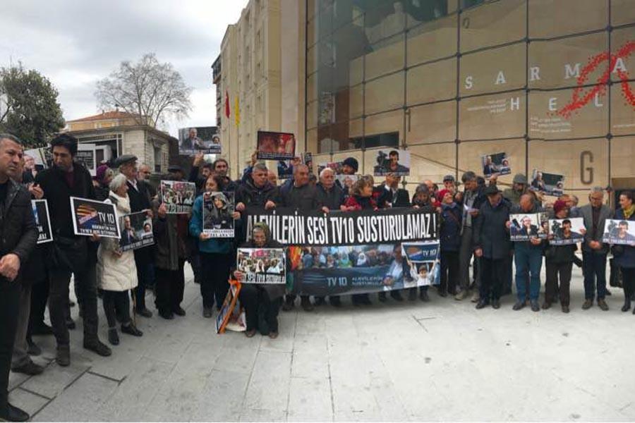 TV 10 çalışanları 68. kez Galatasaray Meydanı'nda