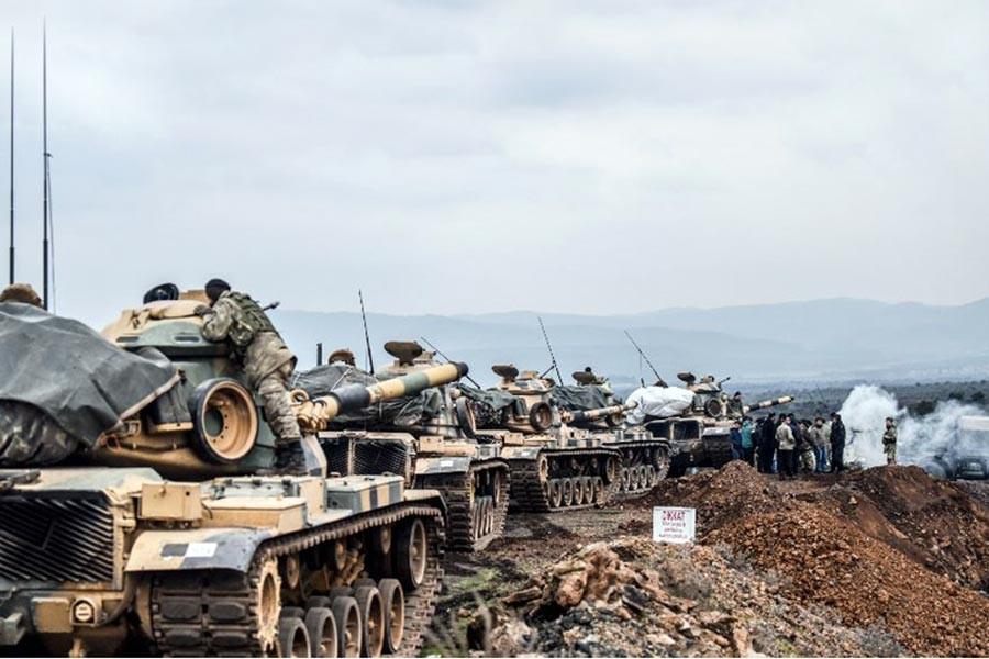 Emek ve meslek örgütlerinden Afrin operasyonuna tepki