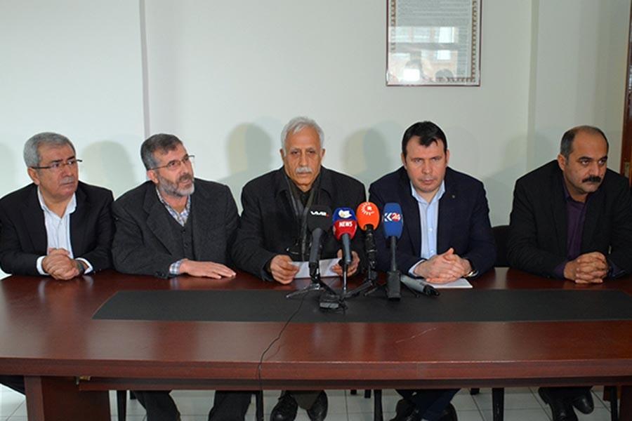 Bölgedeki Kürt partileri: Sorun barış ve diyalogla çözülmeli