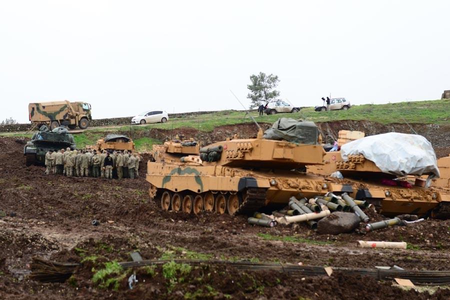 AFRİN'E YÖNELİK<br>ASKERİ OPERASYON
