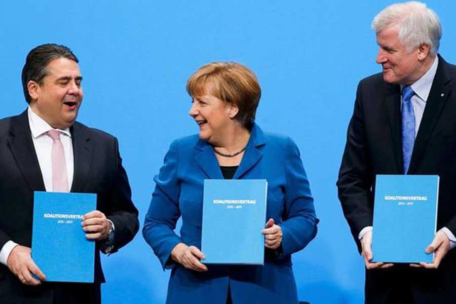 Almanya'da 'büyük koalisyon' görüşmeleri bugün başlıyor
