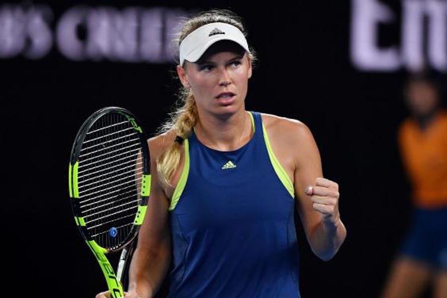 Avustralya Açık'ta kazanan Caroline Wozniacki oldu