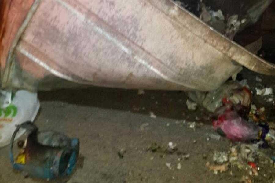 Diyarbakır Valiliği yakınlarında çöp konteynerinde patlama