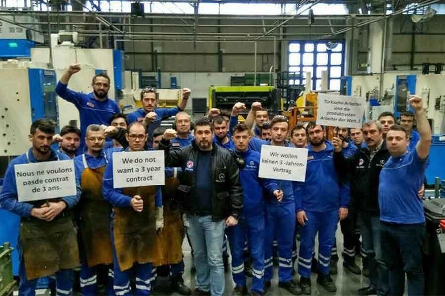Mercedes işçileri: Bizim ekmek savaşımız ne olacak?