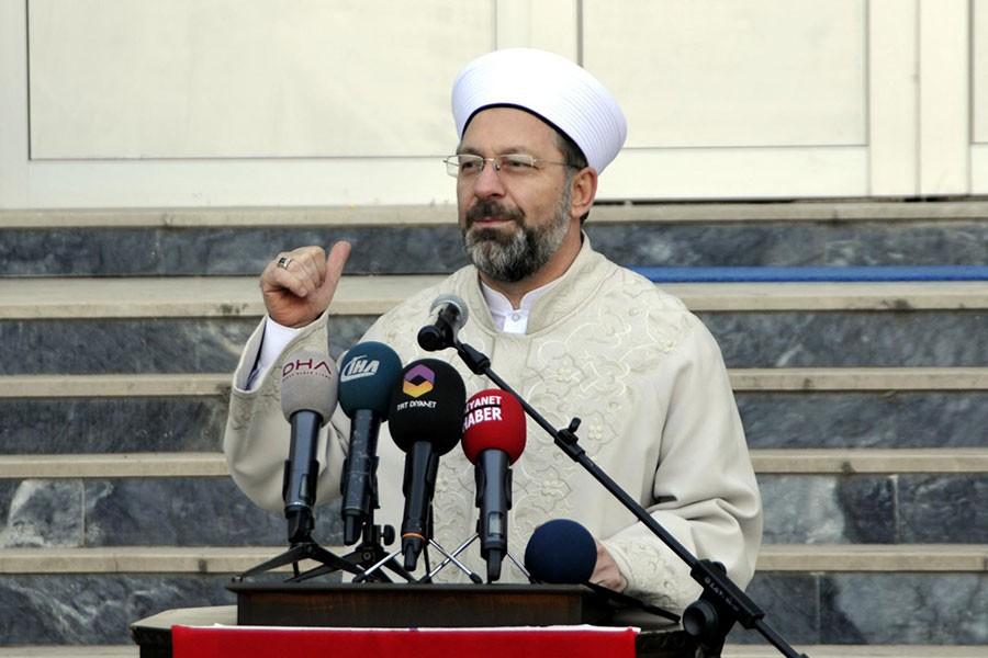 Ali Erbaş: Türkiye'nin yüzde 59'u Kur'an okumayı bilmiyor