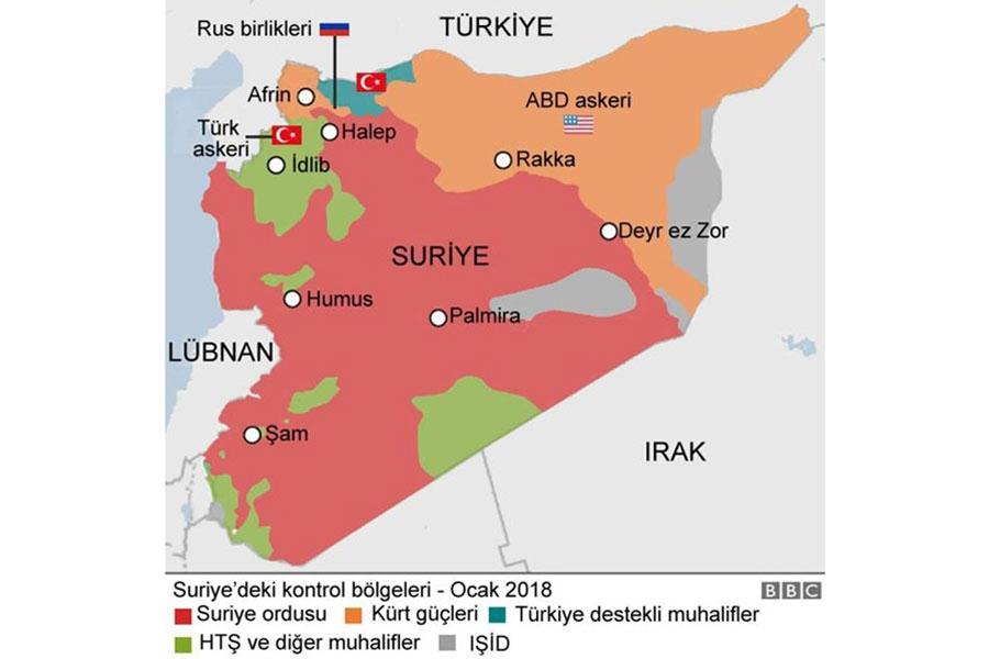Türkiye'nin Afrin'e yönelik 'Zeytin Dalı' Operasyonuna dair gün gün gelişmeler...