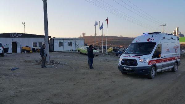 Isınmak için yaktıkları ateşe tiner döken 7 işçi yaralandı