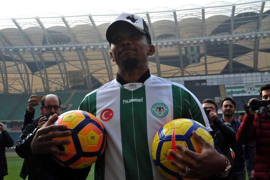 Samuel Eto'o, Atiker Konyaspor ile sözleşme imzaladı