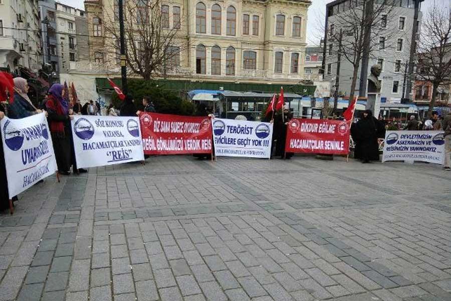Hacamatçılara eylem serbest, sağlıkçılara ise yasak!