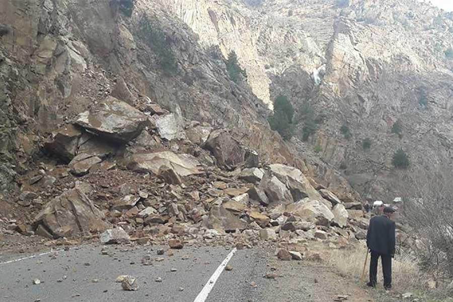 Artvin-Ardahan karayolu heyelan nedeniyle ulaşıma kapandı