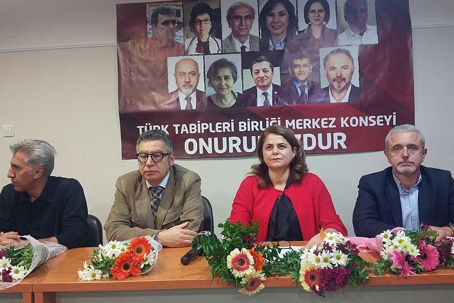 Mersin'den 'TTB yöneticilerini serbest bırakın' çağrısı