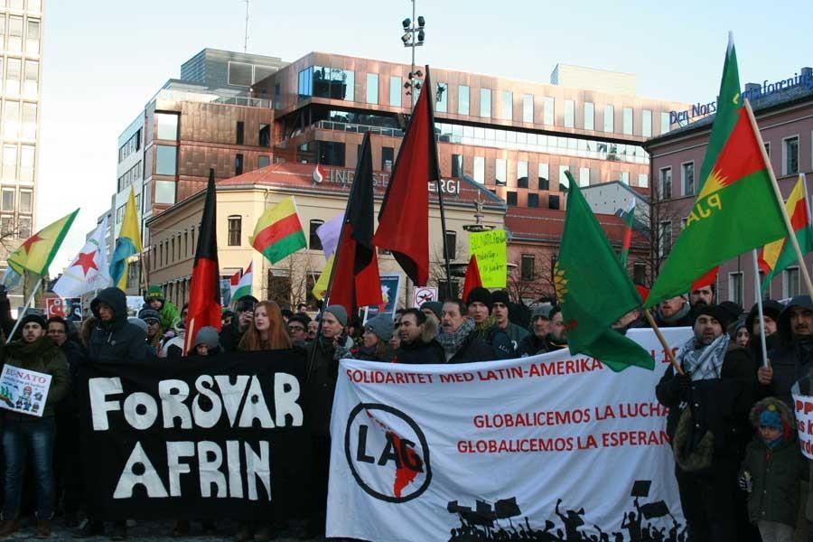 Norveç Afrin eylemi
