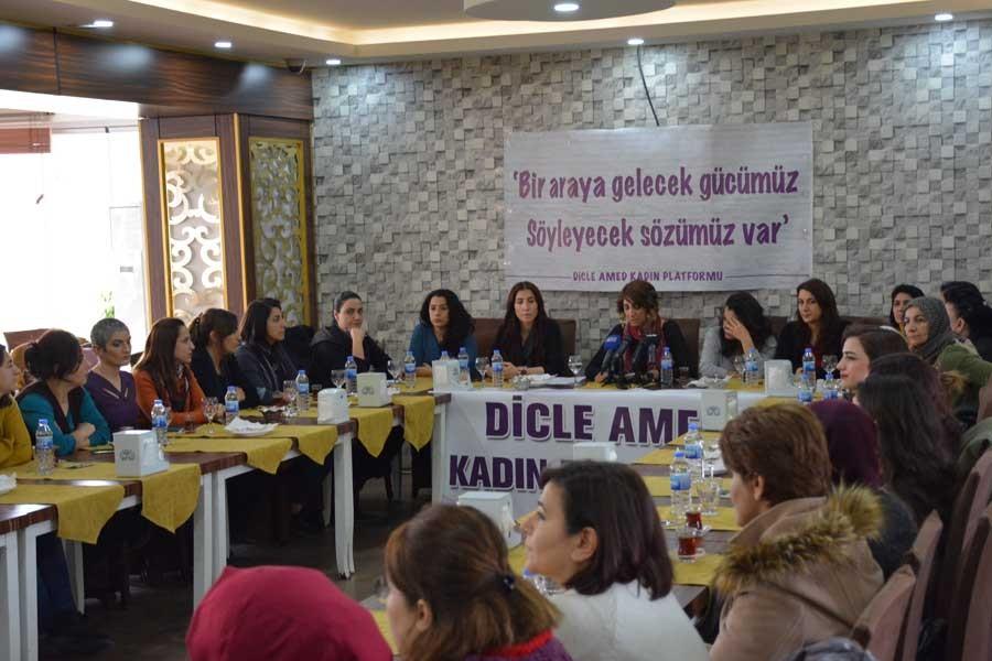 Dicle Amed Kadın Platformu kuruldu