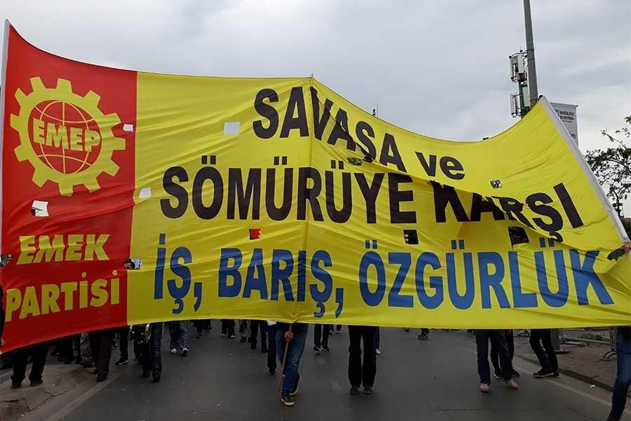Emek Partisi: Bedel ödemeyi kabul etmeyelim, savaşa hayır!