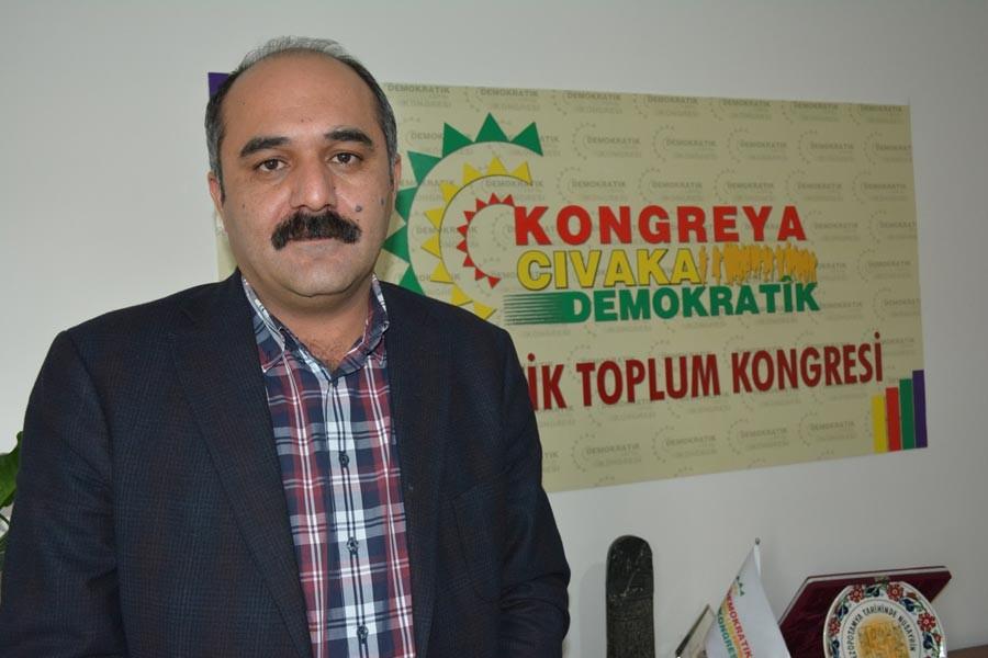 DTK Eş Başkanı Öztürk: Barış sesini duymak istemiyorlar
