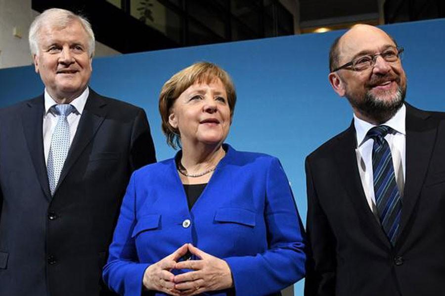 Almanya'da koalisyon taslağı: Müzakereler durdurulsun