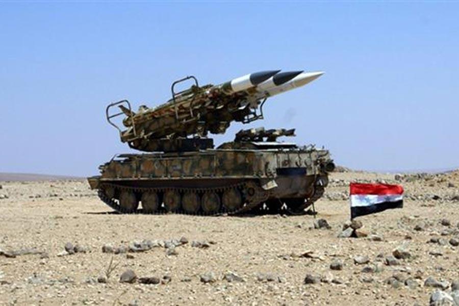 Suriye'den Halep ve İdlib'e hava savunma füzeleri