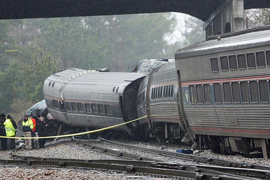 ABD'de bir haftada üçüncü tren kazası