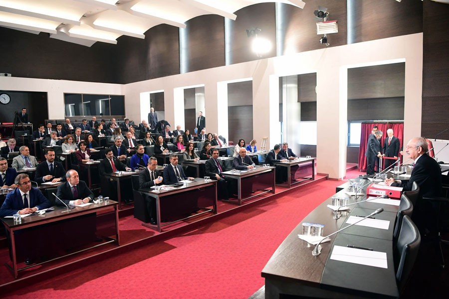 CHP Parti Meclisi toplandı