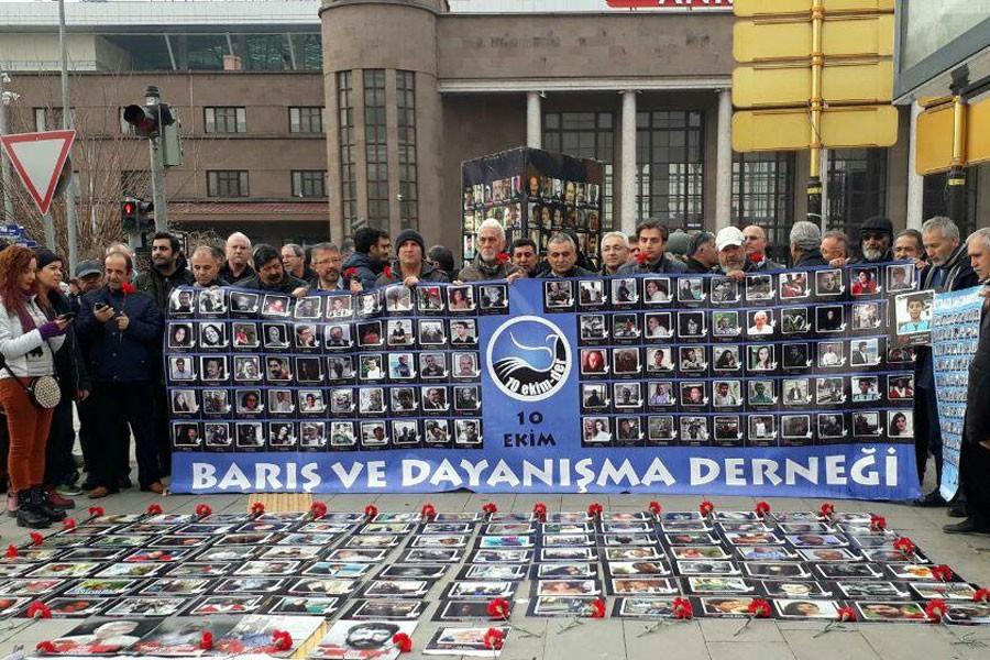 10 Ekim katliamında yitirilenler 28. ayında anıldı