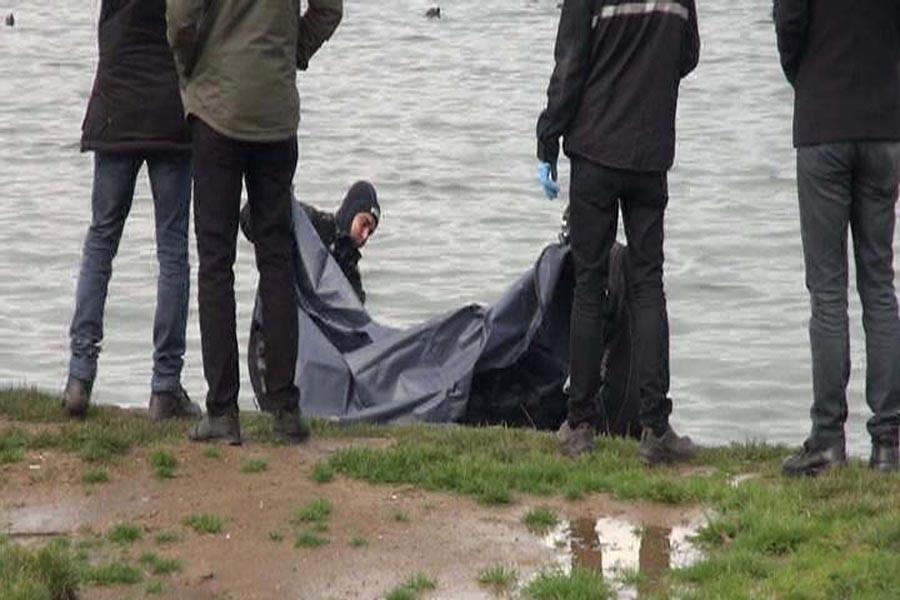 Küçükçekmece gölünde kadın cesedi bulundu