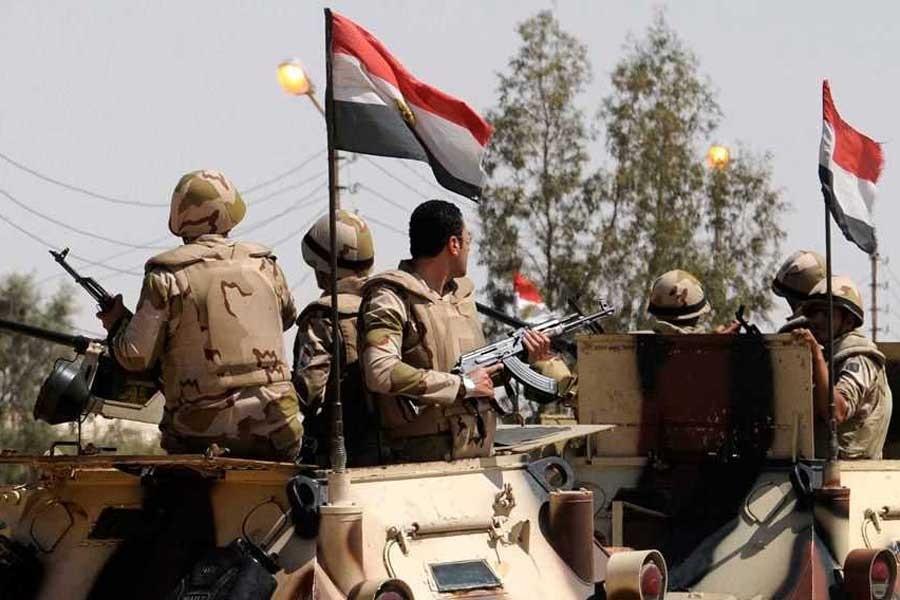 Mısır Ordusu: Sina'da 16 militan öldürüldü