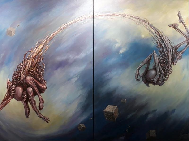 'Yersiz zaman' sergisi Galeri Diani'de