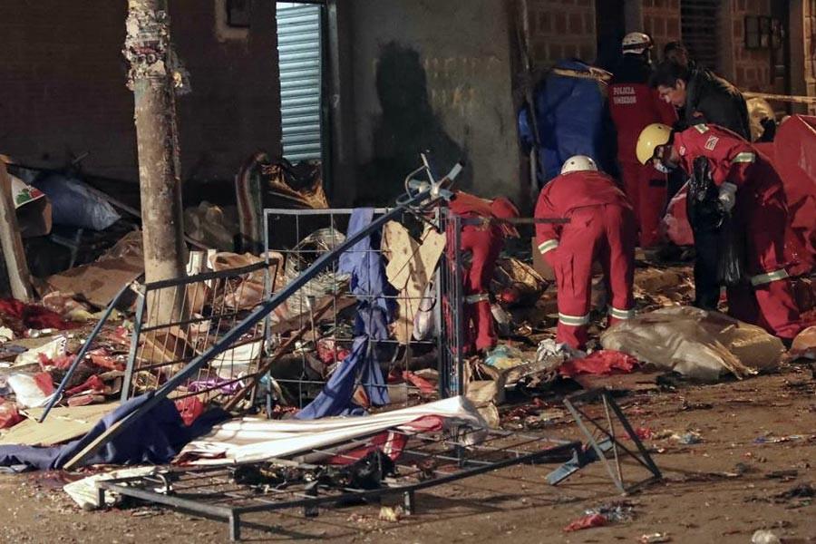 Bolivya'da festivalde patlama: 21 kişi hayatını kaybetti